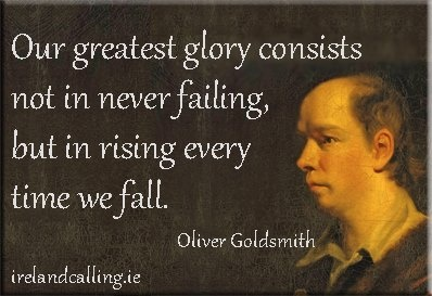 Oliver Goldsmith (1730 - 1774) was an Anglo-Irish writer and poet.