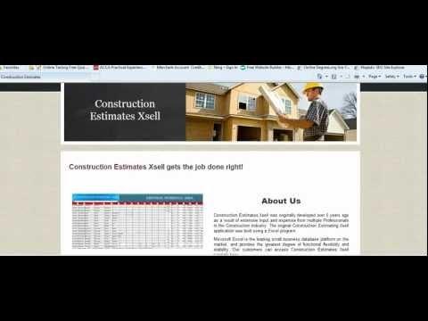 Construction Estimating Software   Construction Cost Estimator