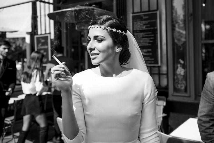 vintage bride - My Dream Intimate Wedding In Paris