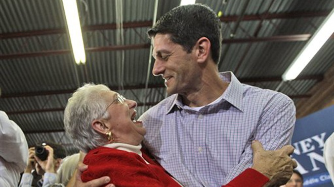 When Ryan talks about his working-class understanding of business he would likely know – considering that at as high-schooler he worked the grill at McDonald's.