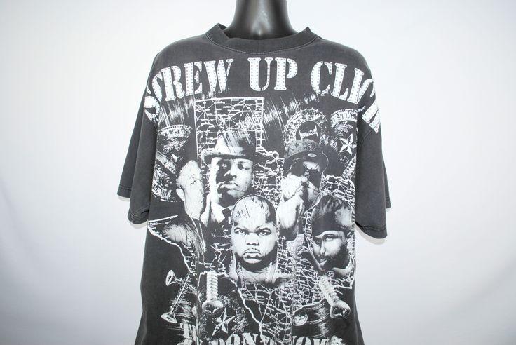 00's Screwed Up Click They Don't Know About Them Texas Boyz Rare RIP DJ Screw, Big Moe, Pimp C, Fat Pat and Big Hawk H-Town Rap T-Shirt