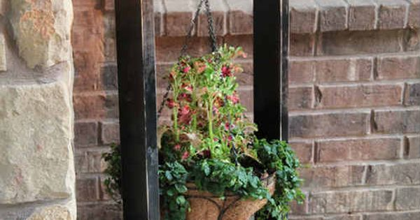 how to make a hanging basket stane