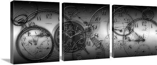 Montage of old pocket watches Greatbigcanvas.com