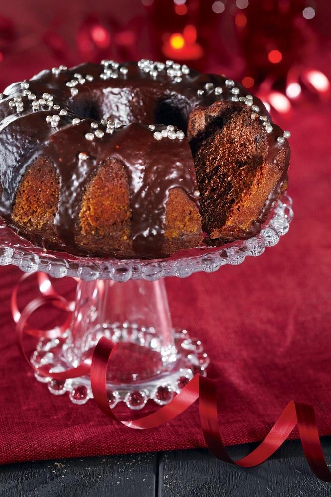 Tumma suklaakakku | K-ruoka #joulu