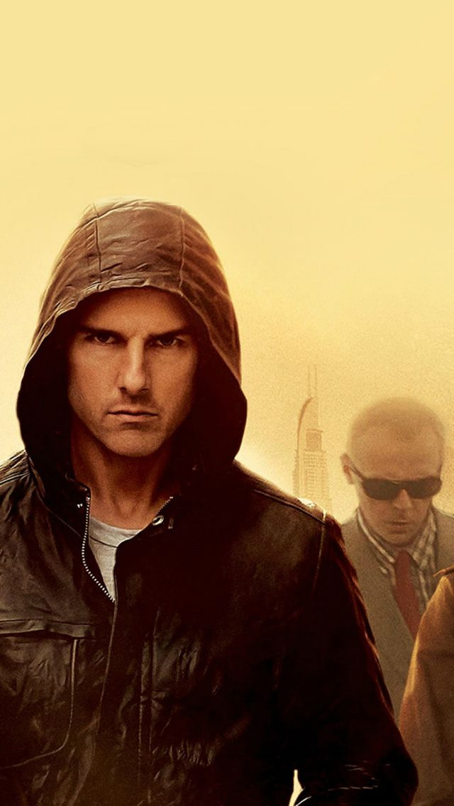 Mission Impossible Tom Cruise Film Art Yellow #iPhone #5s #wallpaper