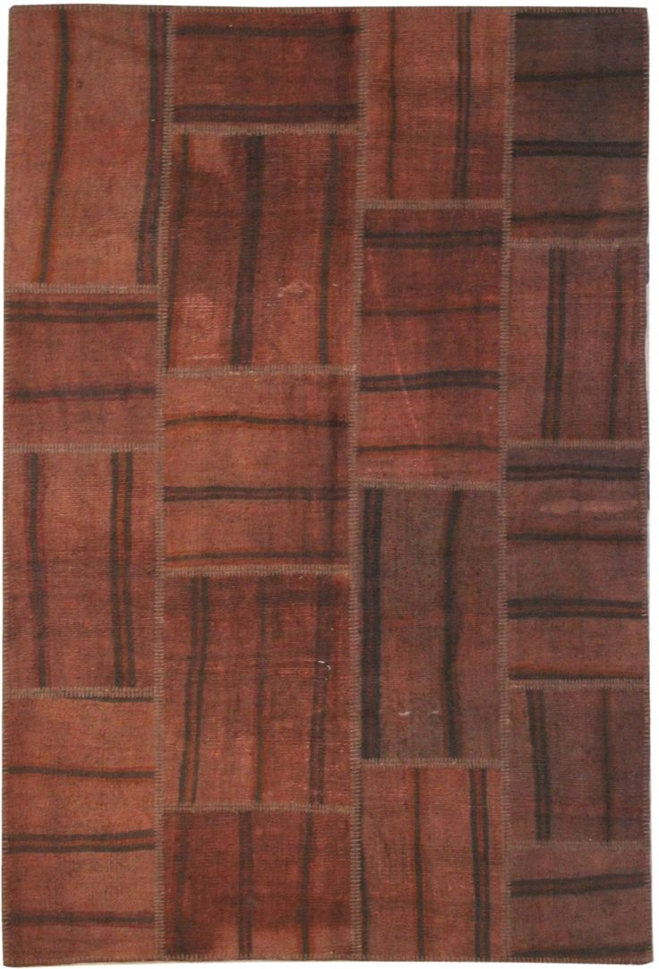 The Orient Bazaar - Rugs on Sale Brown Rugs Patchwork Rug Turkish Rug  Vintage Rug Area