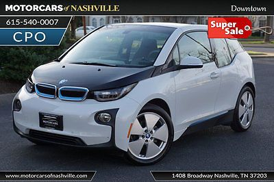 2014 BMW i3 Hatchback *NO RESERVE* '14 I3 Mega 100% Full Electric Nav BackUp CPO W-ty Available Carfax
