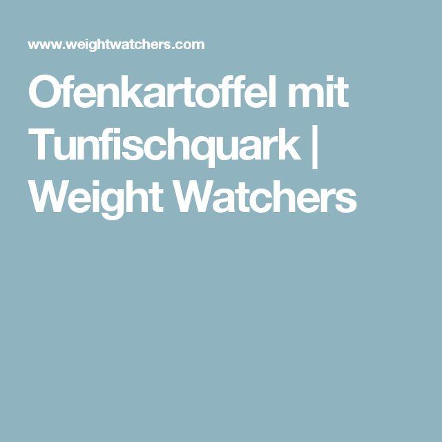 Ofenkartoffel mit Tunfischquark   Weight Watchers