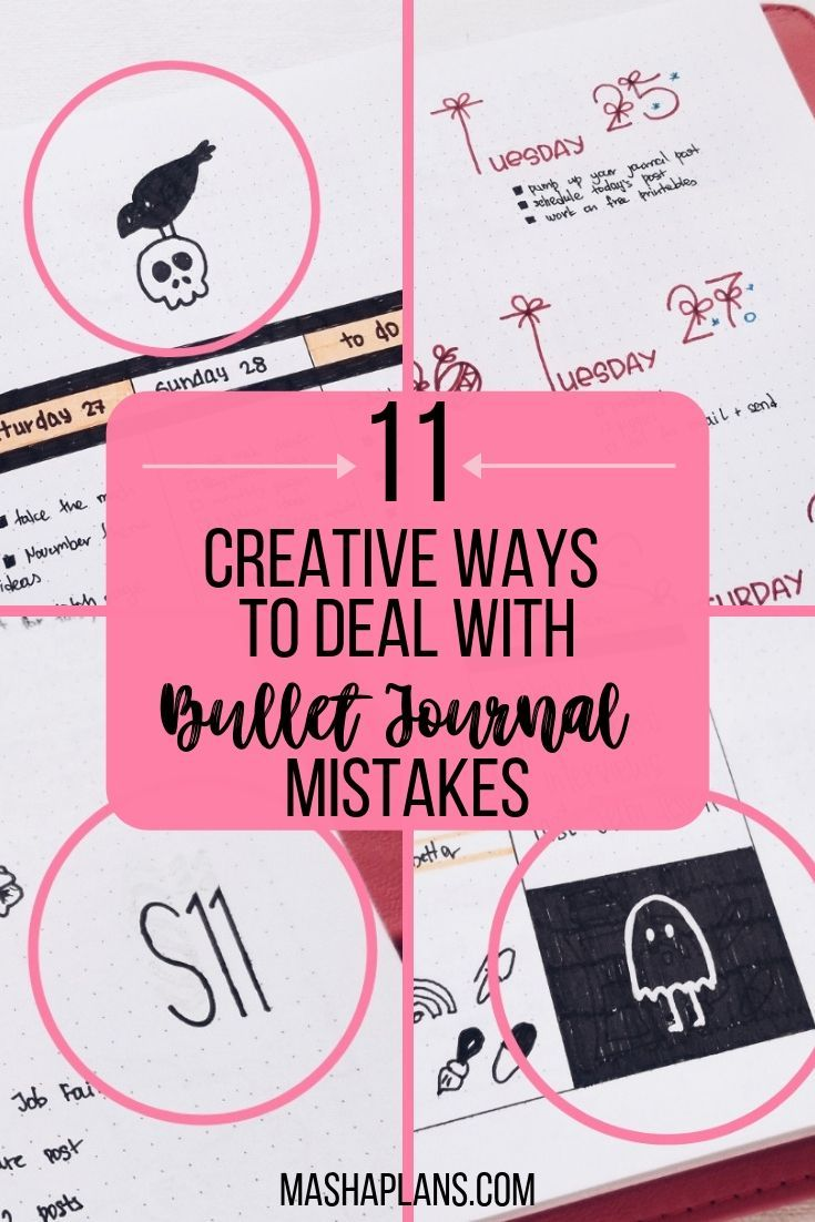 11 creative ways to deal with bullet journal mistakes journal planner paper bliss pinterest bullet journal bullet journal inspiration and bullet
