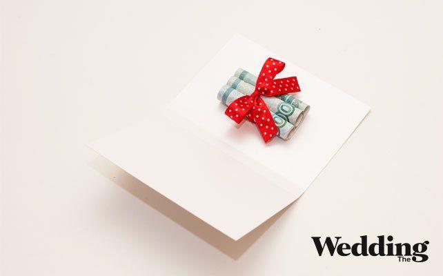 Мастер-класс для гостей: как сделать открытку-сюрприз для денег