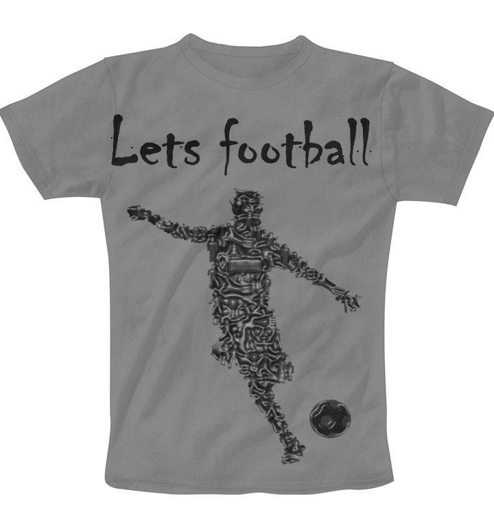 lets football grey juston T-Shirt