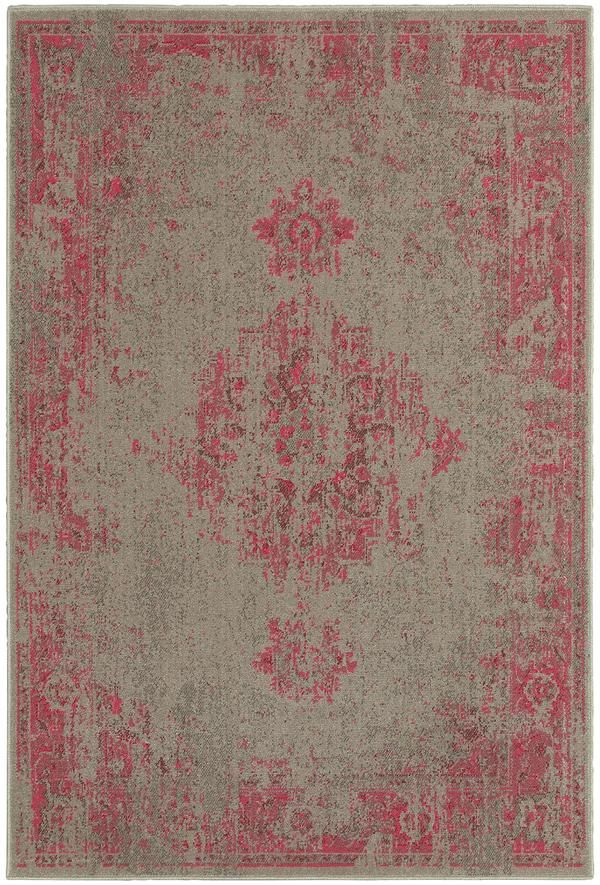 Pink Gray Faded Rug Woodwaves Antique Heriz Rug Synthetic Rugs Oriental Weavers