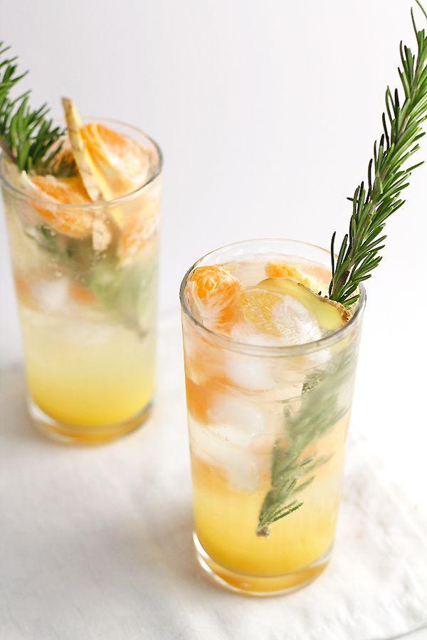 Virgin Ginger Mimosas In Sonnet S Kitchen Resep Moktail Makanan Minuman