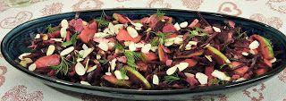 Elmira paleo konyhája: Gyömbéres-almás céklasaláta