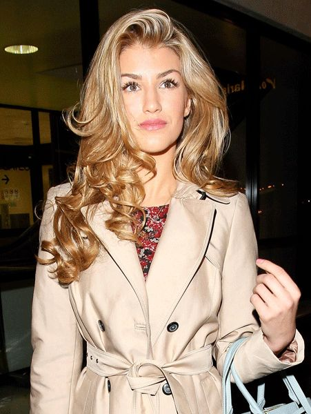 Amy Willerton arrives in the sunshine state