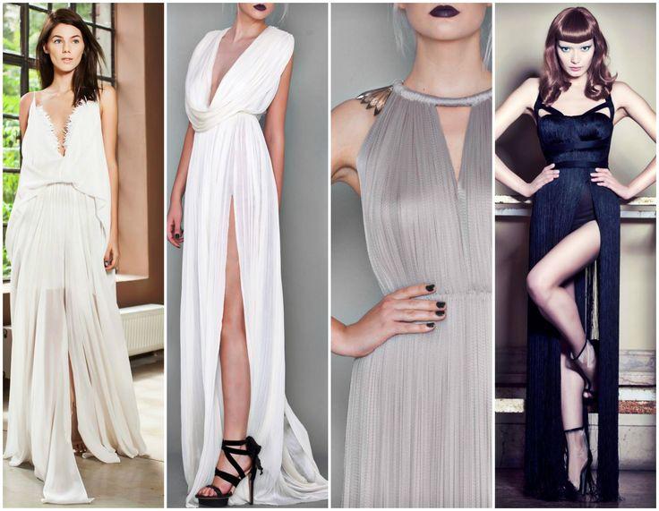 Some of @marialuciahohan24 's beautiful  Dresses  #fabulous #dress #fashion #style #glam ✨ #absolutelyinlove