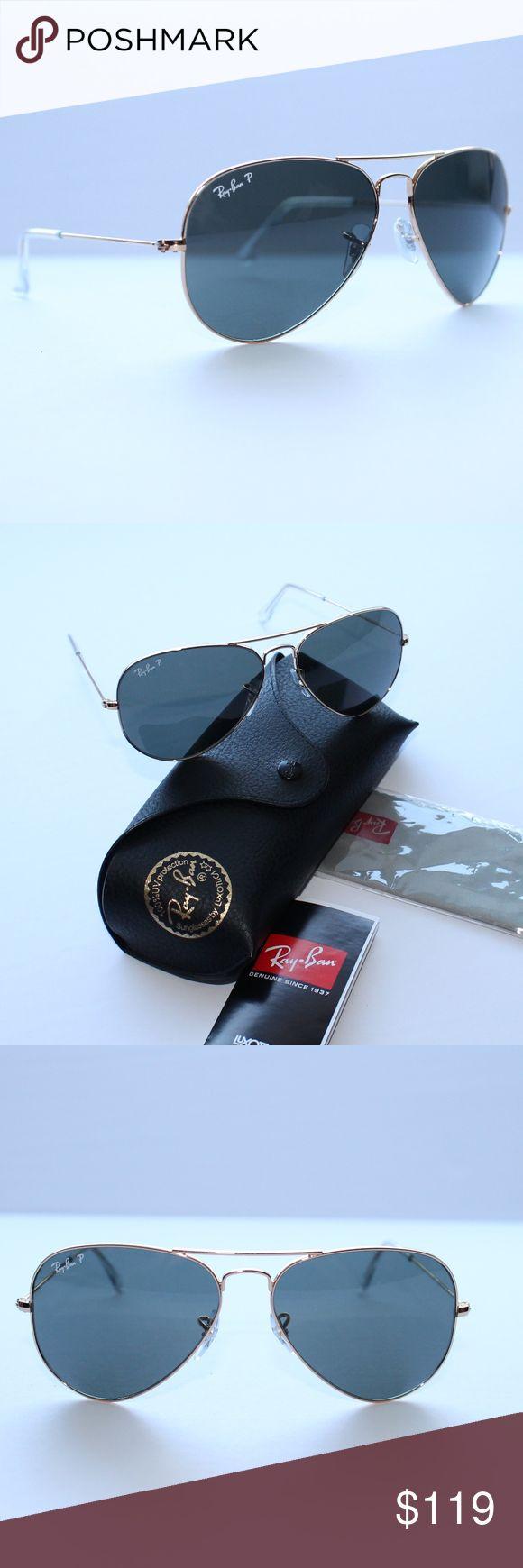Ray-Ban Aviator Classic Gold/Green Polarized RB302 Brand New 100% Authentic Ray-Ban Aviator Classic Gold/Green Polarized RB3025 L0205 58-14 Ray-Ban Accessories Sunglasses