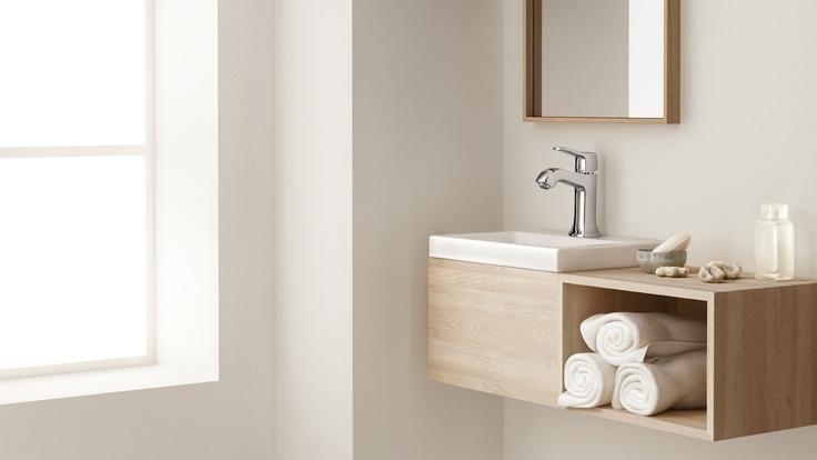 Classic bathroom design: Nostalgic beauty in your bath. #hansgrohe #TalisClassic #Classic