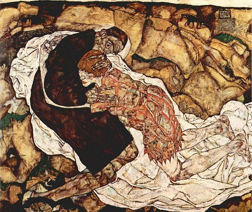 Egon Schiele Death and the Woman | by griffinlb