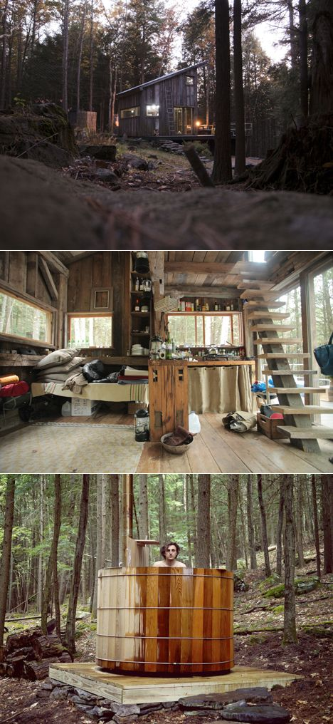 Beaver Brook: Woodland Living Cabins and Outdoor Bath