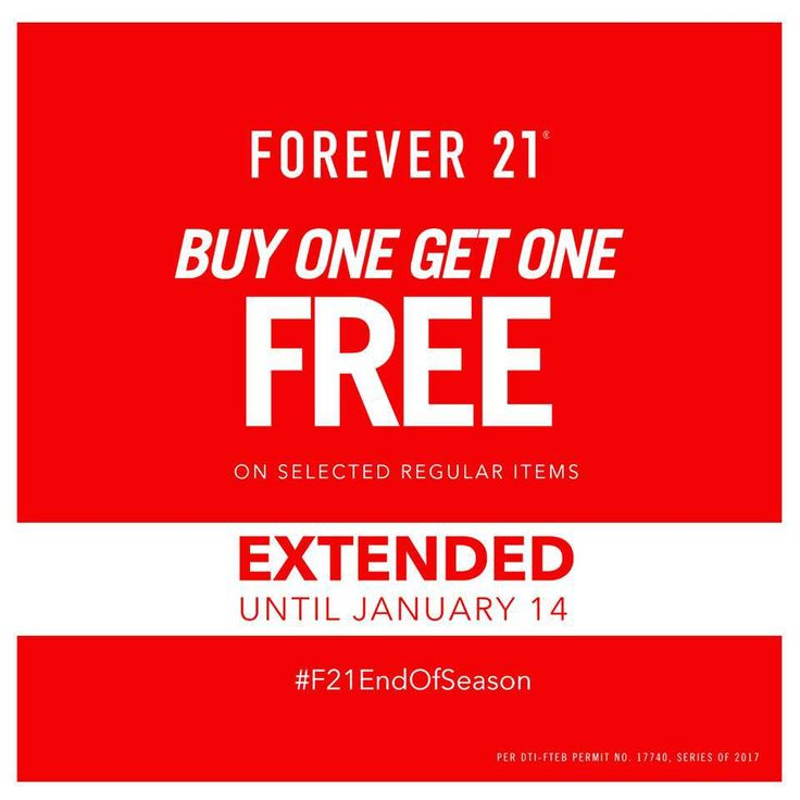 EXTENDED: Forever 21 End of Season Sale. CLICK HERE for more details: https://dealspinoy.com/extended-forever-21-end-of-season-sale/ #DealsPinoy #F21EndOfSeason
