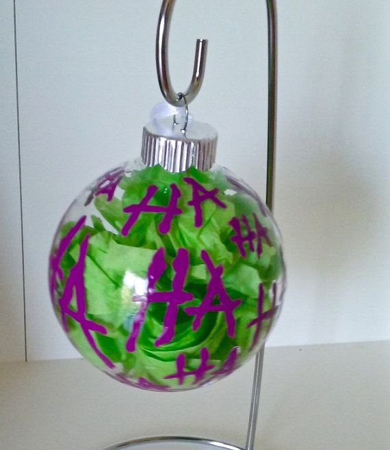 Batman's Joker Inspired Christmas Ornament