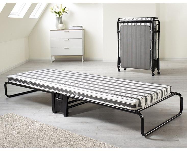 Advance Airflow Fibre Single Folding Guest Bed & Mattress