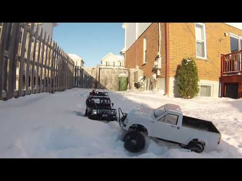 RC Scale Crawler 4x4 - Gelande 2 D90 and Yota Deep snow winch action by drekas RC crawler & drcmotion.com - Thanks for watching and if you like subscribe! :)