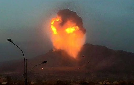 Saudis Have 'Israel' Nuke Yemen for Them Local Editor Neutron bomb dropped by IAF plane with Saudi markings...   Yemen