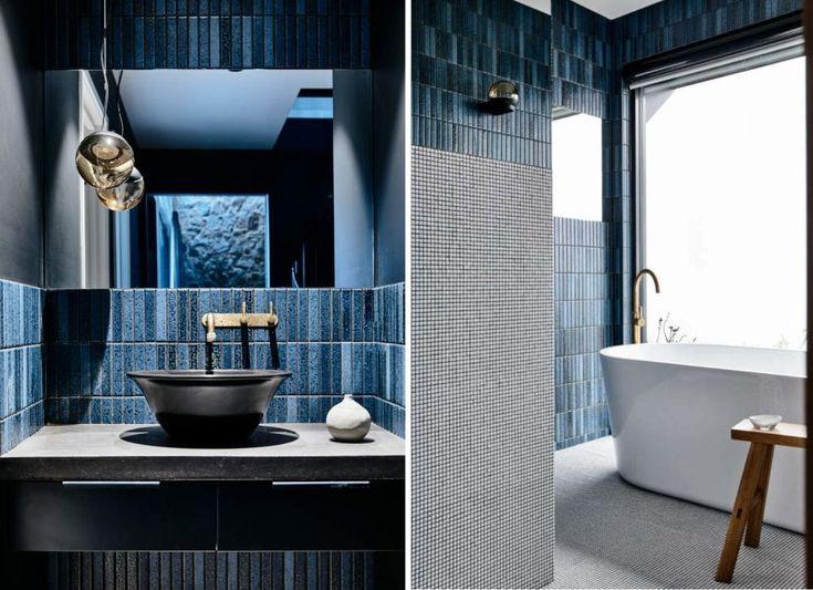 dark blue bathroom  google search in 2020  best bathroom