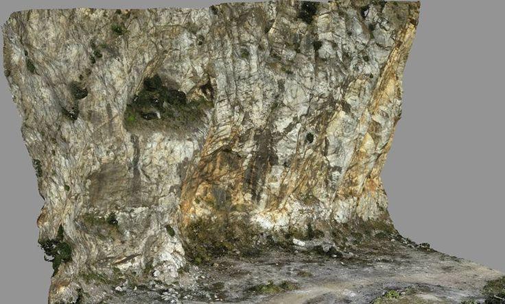 Rilievo topografico centimetrico con drone della cava del Monte Castellare (Test), San Giuliano Terme, 2016 - GeoInformatiX, Alberto Antinori