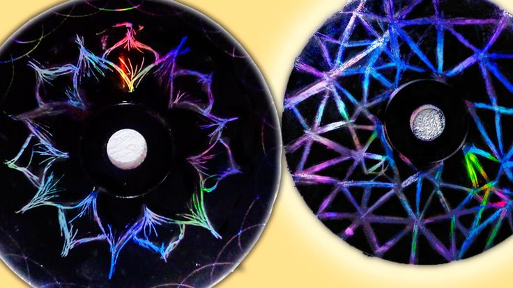 DECORA TU CUARTO con CD´s DIY