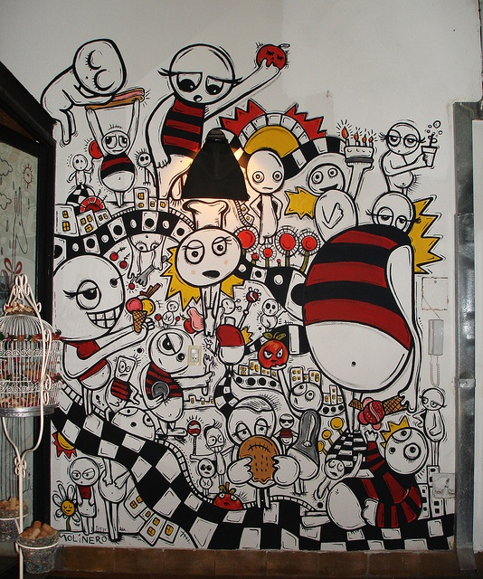 mural La Cocina Discreta, CABA