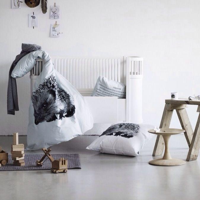 Hedgehog Baby Bed Linen By Nord, Babyroom, Barnrum