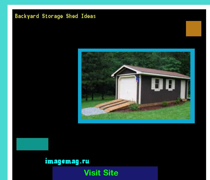 Backyard Storage Shed Ideas 195352 - The Best Image Search