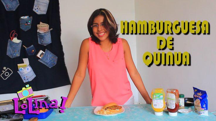 Hamburgusas de Quinoa, receta vegetariana y saludable - LoLina
