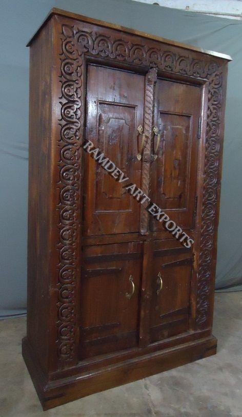 Indian Vintage Door Almirah
