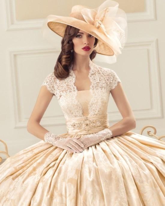 Chrystelle Atallah кот ретро стиль свадебного платья романтический с плеча свадебные платья Novia аппликации милая спинки