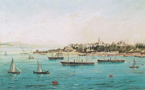 stanbul, 1895 Davit Çiraciyan (Turkish) Oil on canvas; 81 x 129 cm Sakip Sabanci Müzesi, Istanbul http://muze.sabanciuniv.edu/