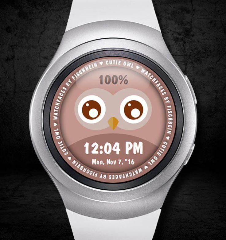 Cutie Owl 12h – Watchfaces by Fischbein