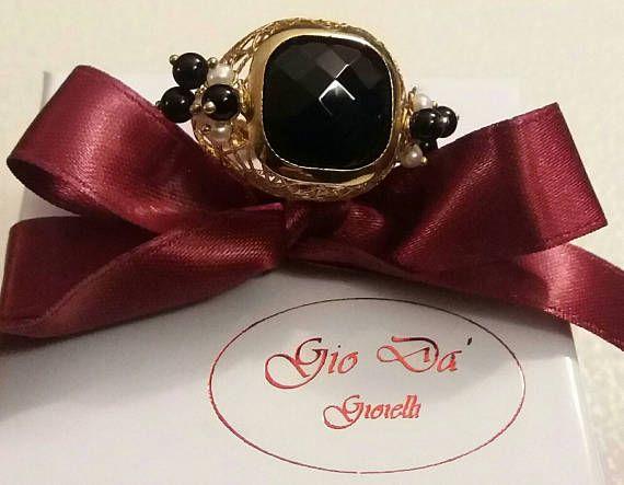 Guarda questo articolo nel mio negozio Etsy https://www.etsy.com/it/listing/514644758/anello-realizzato-in-argento-perle-di