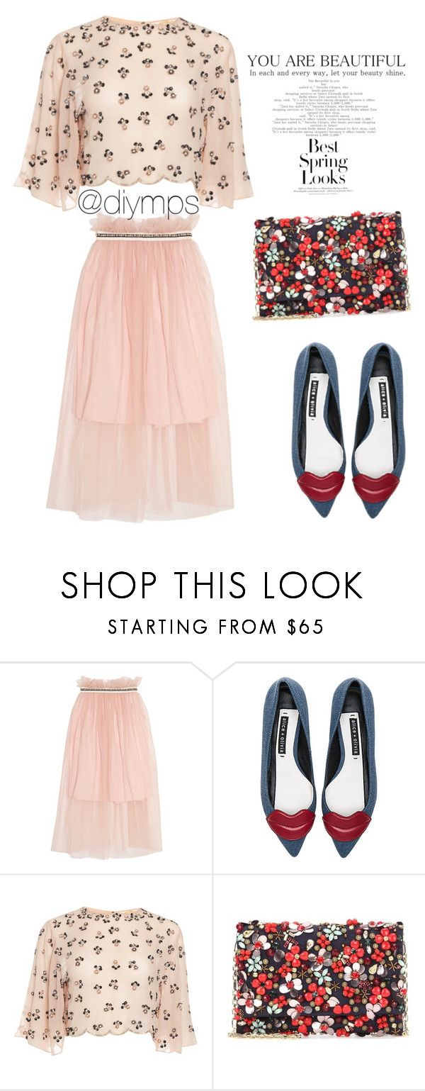 """""""😃"""" by diymps on Polyvore featuring Mother of Pearl, Alice + Olivia, Oscar de la Renta and H&M"""