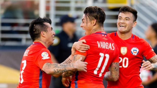 #CopaAmerica Match Report: Mexico 0  7 Chile Vargas Scores Four As Champions Ease Into Semis