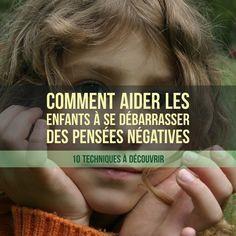 Une pensée négative peut entrainer des émotions désagréables et même dégrader l'humeur des enfants sur une durée plus ou moins longue.    Il est donc utilede leur fournir des outils pour gérer cespensées négatives. Pour cela, commençons