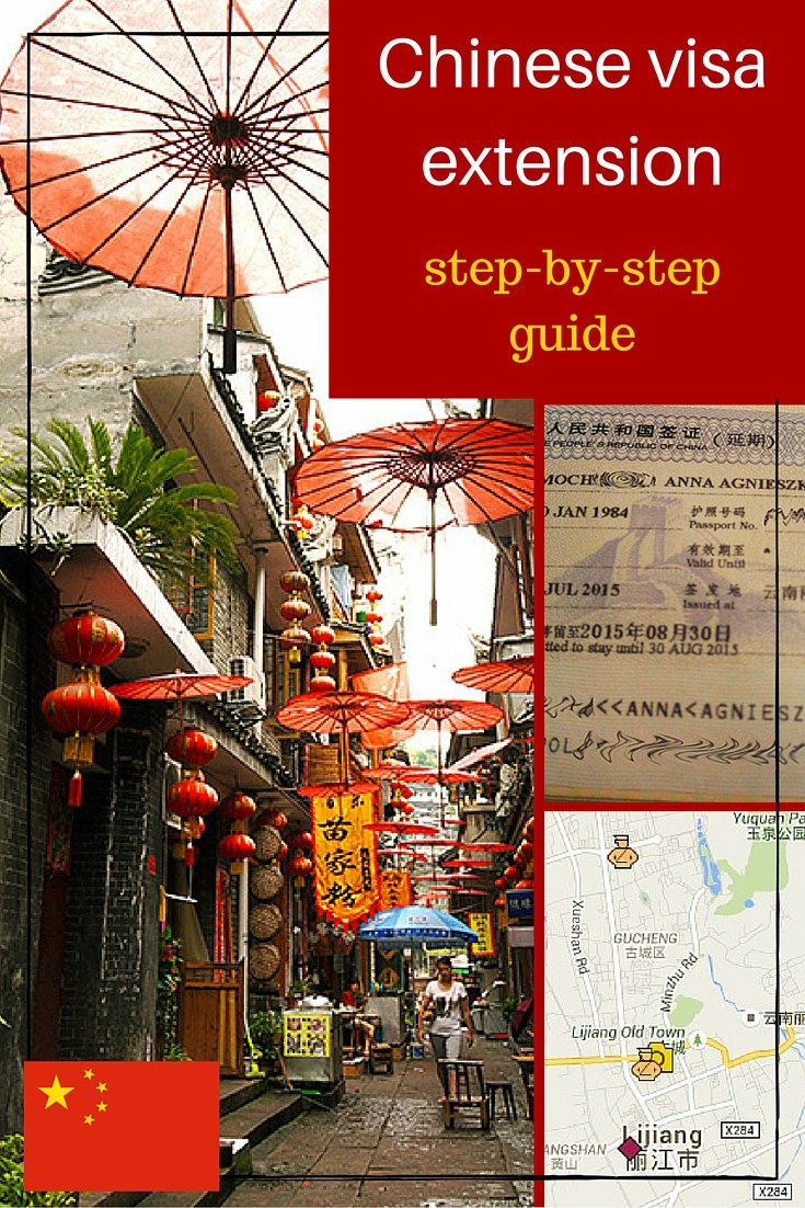 Chinese visa extension guide
