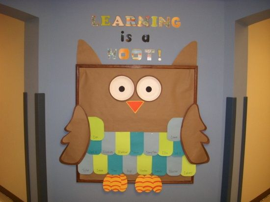 Learning Is A Hoot Classroom Wall Decoration