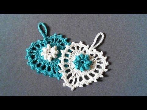 How to crochet heart. СЕРДЕЧКО КРЮЧКОМ