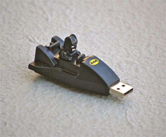The Bat Stick 8GB Batman Mini Batmobile USB flash drive memory stick DC comic book comics Superhero for computer mac or PC for geeks