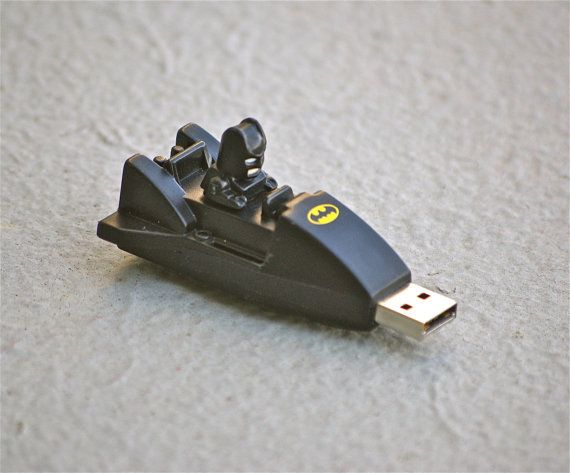 The Bat Stick 8GB Batman Mini Batmobile USB flash drive memory stick DC comic book comics Superhero for computer mac or PC for geeks