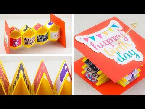 Wagons card la tarjeta perfecta de cumplea os - Manualidades para regalar en cumpleanos ...